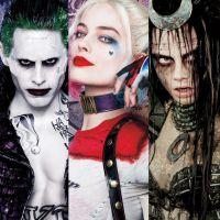 """Filme """"Esquadrão Suicida"""": Coringa (Jared Leto), Arlequina e mais personagens ganham novos cartazes!"""