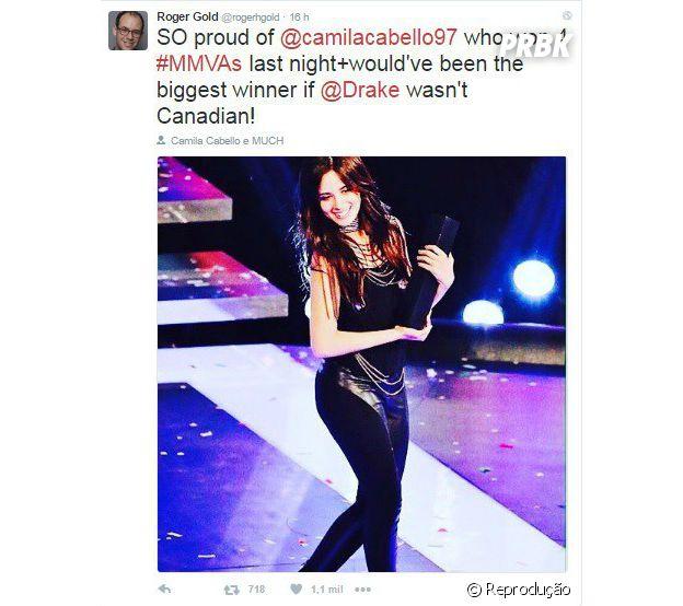 Empresário de Camila Cabello faz publicação sobre cantora e causa confusão