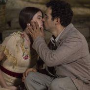 """Novela """"Êta Mundo Bom!"""": Mafalda (Camila Queiroz) e Zé dos Porcos se beijam após declaração!"""