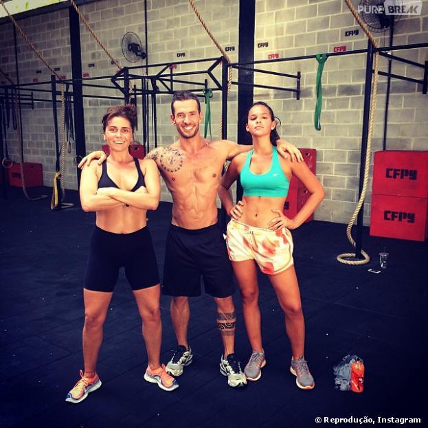Bruna Marquezine e Giovanna Antonelli viraram adeptas do CrossFit
