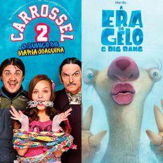 """Duelo """"Carrossel 2"""" ou """"A Era do Gelo 5"""": qual é o filme mais amado do público teen?"""