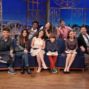 "Larissa Manoela e elenco do filme ""Carrossel 2"" participam do programa ""The Noite"", no SBT!"