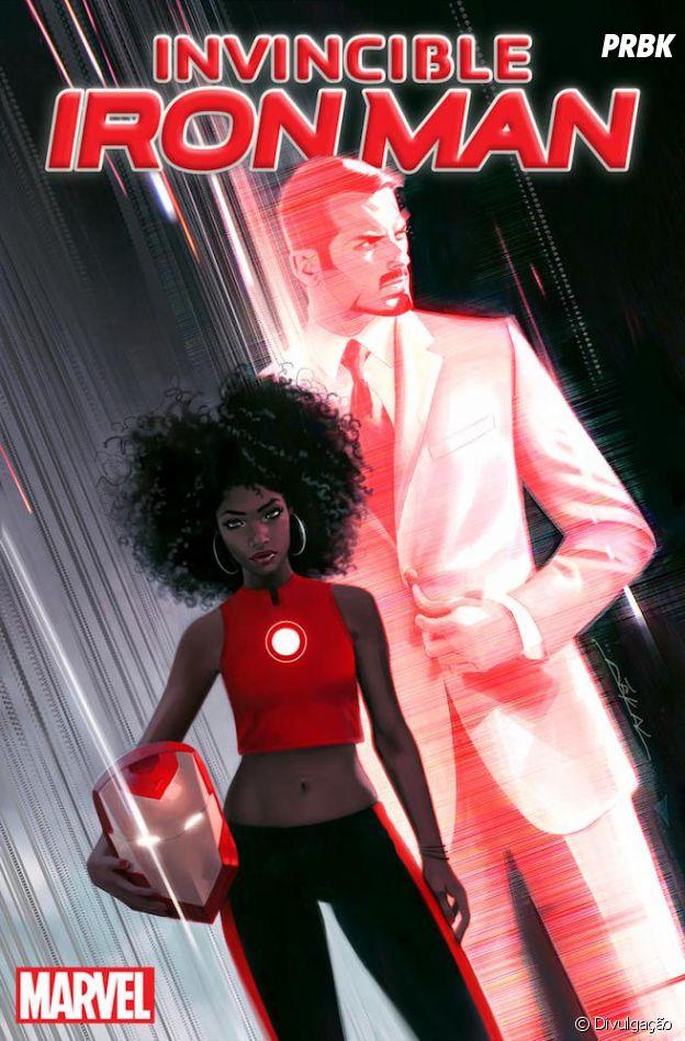 O Homem de Ferro de Tony Stark será substituído pela jovem prodígio Riri Williams