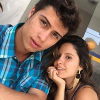 """Novela """"Malhação"""": Francisco Vitti, Amanda de Godoi e as fotos que mostram como a dupla é unida!"""