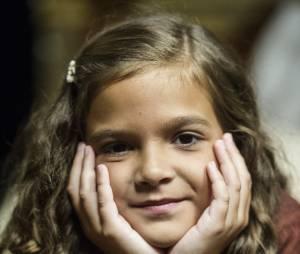 """Durante toda a novela """"Joia Rara"""", Mel Maia interpretou a pequena Pérola"""