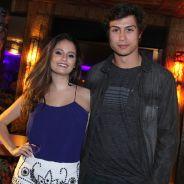 """Francisco Vitti, de """"Malhação"""", posa com Amanda de Godoi em seu aniversário: """"Estamos felizes"""""""