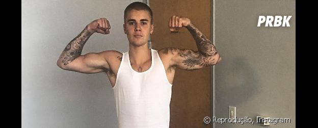 Justin Bieber tem talento pra luta livre