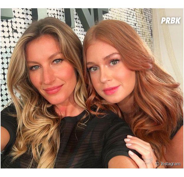 Gisele Bündchen e Marina RUy Barbosa abusam de beleza em selfie