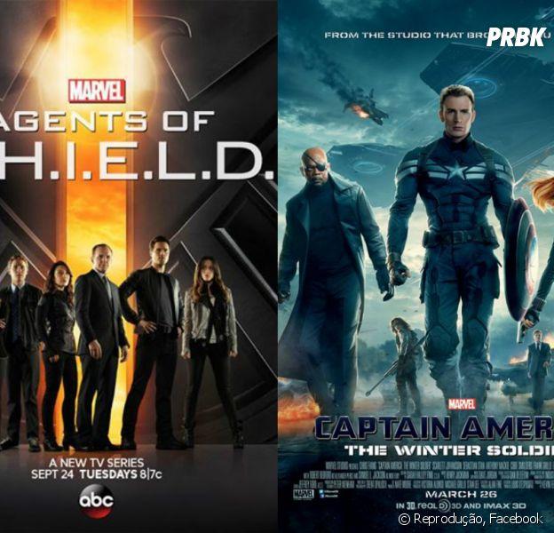 """""""Agents of S.H.I.E.L.D."""" e """"Capitão América 2 - O Soldado Invernal"""" vão estar conectados"""