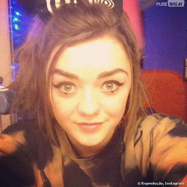 Maisie Williams adora uma selfie no Instagram!