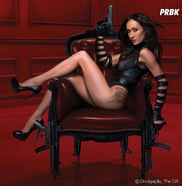 """Em """"Nikita"""", a protagonista tenta acabar com uma agência que treina assassinos"""