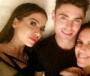 Anitta e Zac Efron aparecem juntos no Snapchat