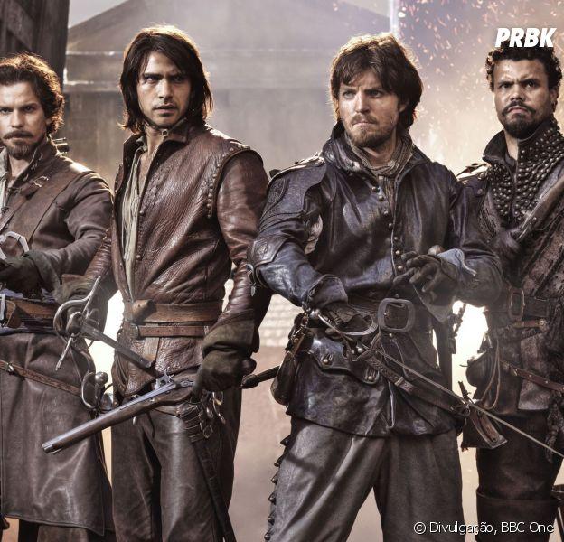 """A série """"The Musketeers"""" é o grande sucesso da temporada britânica!"""