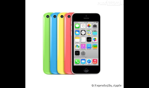 O divertido iPhone 5c em diversas cores