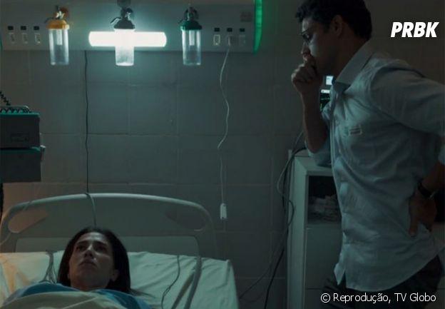 """Em """"Justiça"""", a história de Maurício (Cauã Reymond) e Beatriz (Marjorie Estiano) vai emocionar muitas gente"""