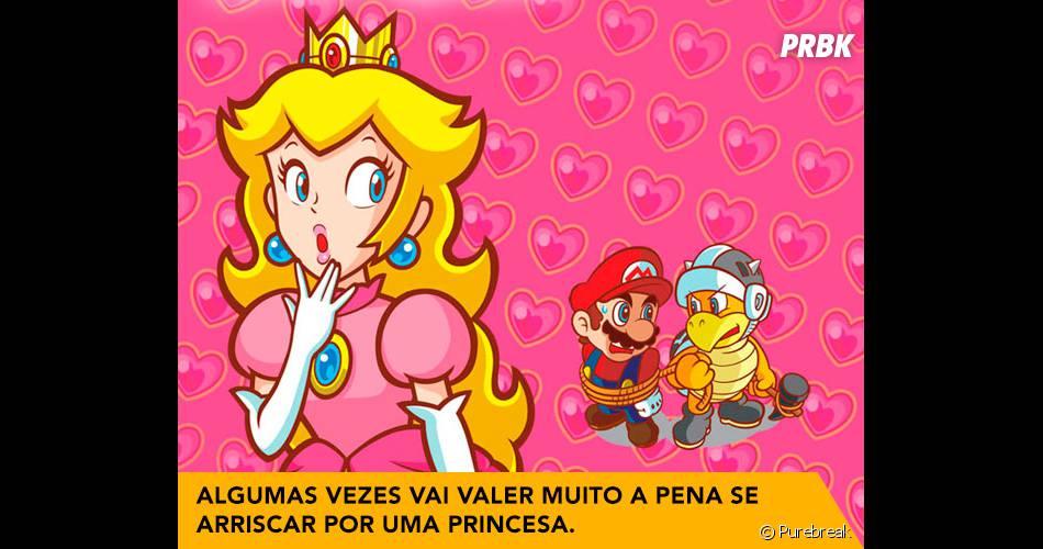 Algumas vezes vai valer muito a pena se arriscar por uma princesa.