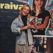 """Priscilla Alcantara lança """"O Livro de Tudo"""" e comemora sucesso com exclusividade ao Purebreak!"""