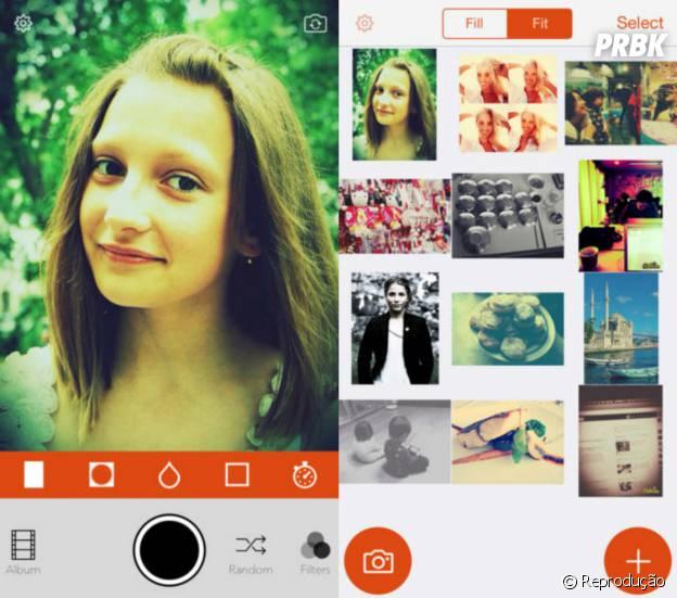 """O aplicativo """"Retrica"""" vem com 80 filtros originais e é gratuito!"""