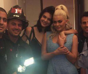 Kylie e Kendall Jenner ficam presas em elevador durante o Nova York Fashion Week