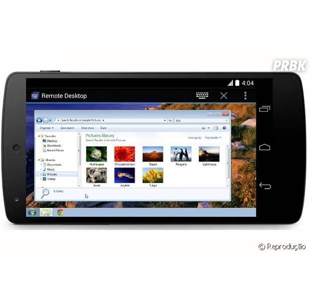 """O aplicativo """"Chrome Remote Desktop"""" agora pode ser instalado no seu smarphone Android"""