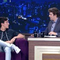 """Christian Figueiredo dá entrevista ao """"Programa do Porchat"""" e fala sobre disputa entre youtubers!"""
