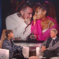 """Ariana Grande assume namoro com Mac Miller no """"The Ellen DeGeneres Show"""": """"Isso é muito louco!"""""""