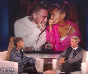 Ariana Grande fica sem graça ao falar sobre Mac Miller