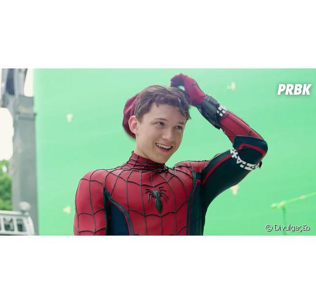 """De """"Spider Man: Homecoming"""", Tom Holland cai em pegadinha no set de filmagem!"""