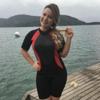 """Do """"BBB16"""", Maria Claudia aparece com menos 10kg e comemora conquista: """"Sempre desejei"""""""