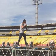 One Direction já está na América do Sul e ensaia para turnê que vem ao Brasil