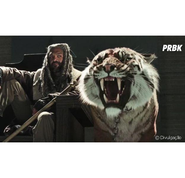 """Em """"The Walking Dead"""": Ezekiel é """"a coisa mais louca"""" que a série já criou, segundo produtor"""