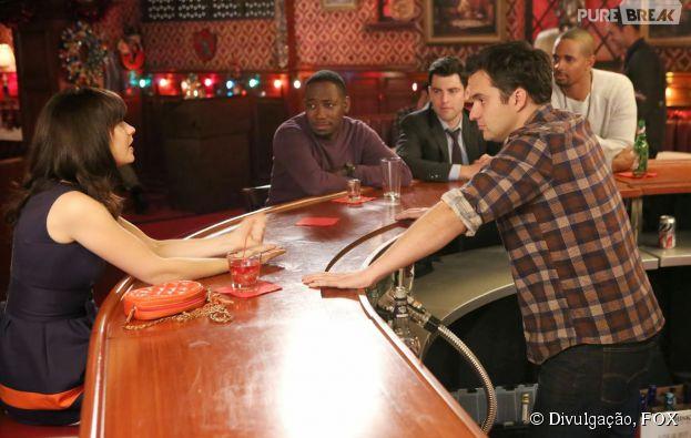 """O Nick (Jake Johnson) fica bêbado no trabalho em """"New Girl""""!"""