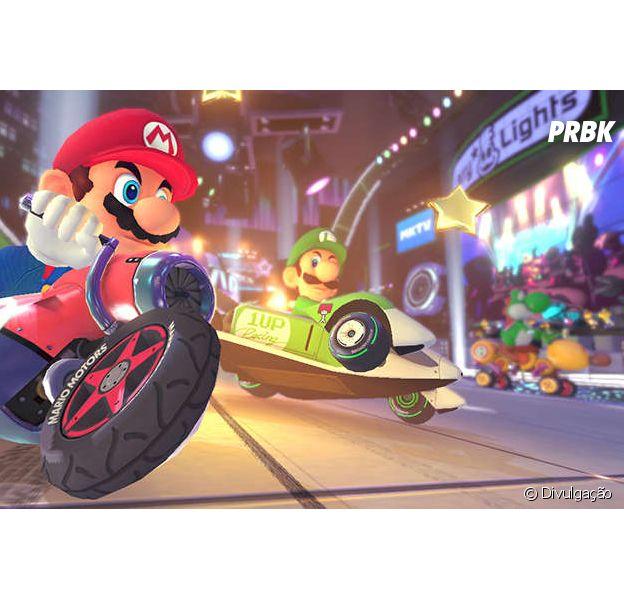 """As novidades de """"Mario Kart 8"""" prometem: sistema anti-gravidade vai mudar seu jeito de jogar"""