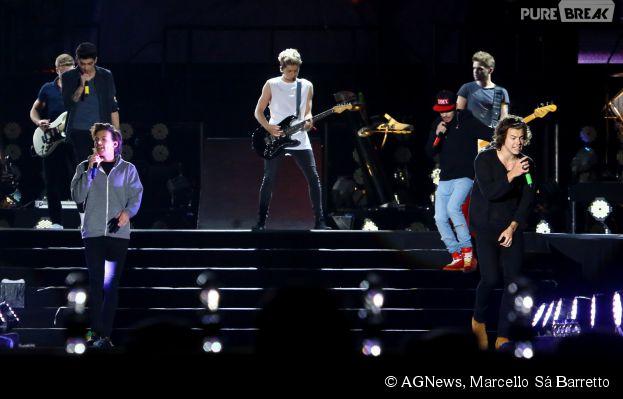 One Direction faz show no Rio de Janeiro