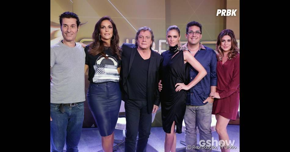 """Apresentadores e jurados do reality musical """"SuperStar"""", da Globo!"""
