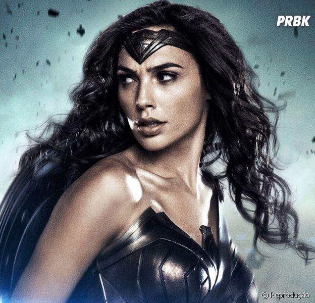 """Filme """"Mulher-Maravilha"""": Gal Gadot, a Diana, aparece quebrando tudo em novo trailer"""