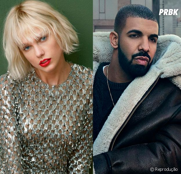 "Taylor Swift e Drake, do hit ""One Dance"", juntos? Rapper publica foto com a cantora"