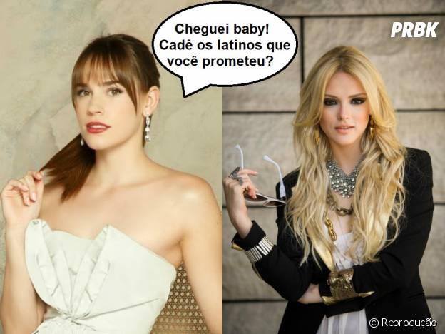 """Megan (Isabelle Drummond) e Charlotte Grayson (Christa B. Allen) seriam ótimas amigas na trama de """"Geração Brasil""""!"""