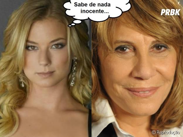 """Em """"Geração Brasil"""", Emily Thorne (Emily VanCamp) seria uma ótima conselheira da Gláucia (Renata Sorrah) na hora de planejar vinganças!"""