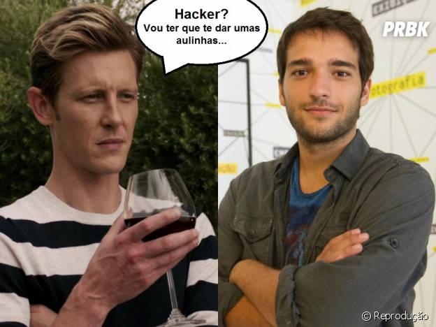 """O hacker Davi (Humberto Carrão) precisa urgentemente de Nolan Ross (Gabriel Mann) em """"Geração Brasil""""!"""
