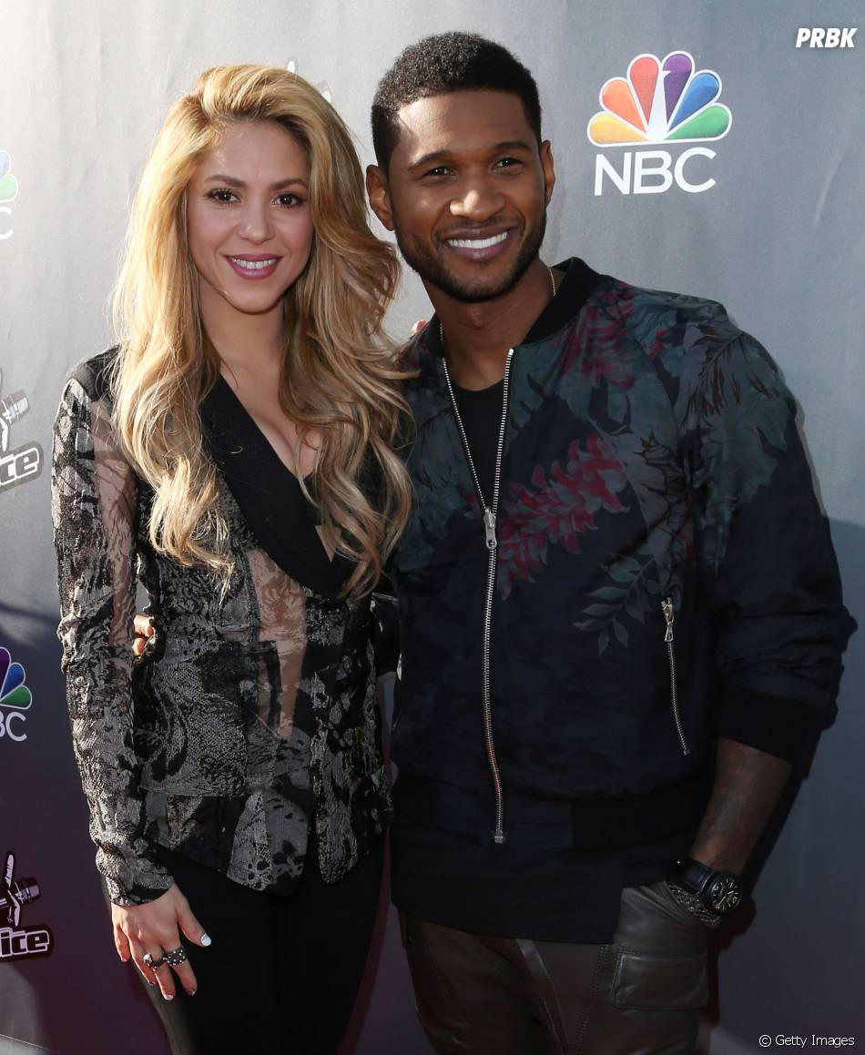 "Shakira entrou no ""The Voice US"" junto com Usher"