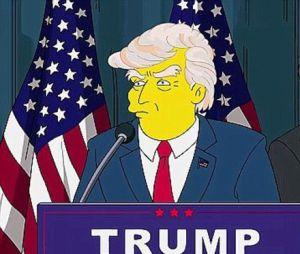 """""""Os Simpsons"""" acertaram quando disseram que Donald Trump se tornaria presidente dos EUA"""