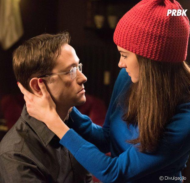 "Shailene Woodley divide a cena com Joseph Gordon-Lewitt em ""Snowden"""