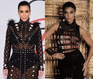 Juliana Paes saberia como ninguém interpretar a causadora Kim Kardashian. Já imaginou?