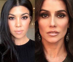 Deborah Secco tem toda a classe necessária para dar vida a Kourtney Kardashian!