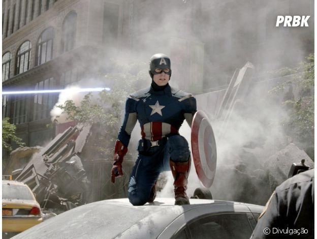 """Em """"Capitão América"""", o herói usou fatos do passado para derrotar o vilão"""