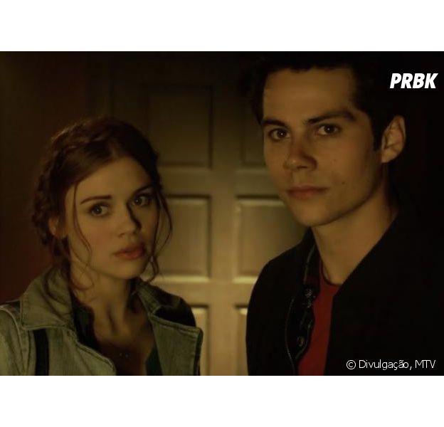 """Na última temporada de """"Teen Wolf"""", Stiles (Dylan O'Brien) e Lydia (Holland Roden) devem terminar juntos?"""