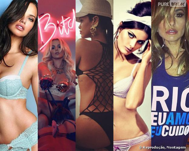 Confira o TOP 10 da mais gatas do Instagram