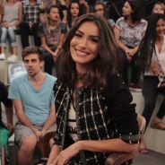 """Marina Moschen, de """"Rock Story"""", participa do """"Altas Horas"""" e revela admiração por Alinne Moraes"""