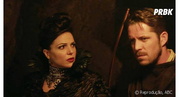 "Regina (Lana Parrilla) e Hobin (Sean Maguire) ainda podem viver um amor em ""Once Upon a Time"""